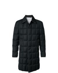 Abrigo largo negro de Thom Browne