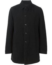 Abrigo largo negro de Z Zegna