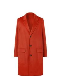 Abrigo largo rojo de Ami