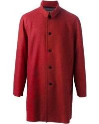 Abrigo largo rojo de Paul Smith
