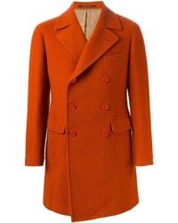 Abrigo largo rojo de Tagliatore