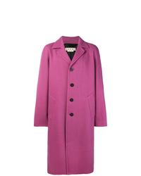Abrigo largo rosa de Marni