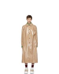 Abrigo largo rosado de Gucci