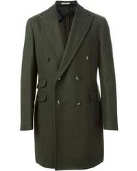 Abrigo largo verde oliva original 429930