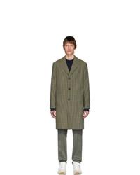 Abrigo largo verde oliva de Acne Studios