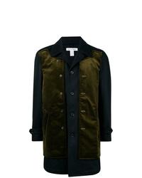 Abrigo largo verde oliva de Comme Des Garcons SHIRT
