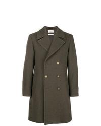 Abrigo largo verde oliva de Paltò