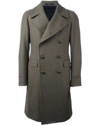 Abrigo largo verde oliva de Tagliatore