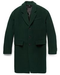 Abrigo largo verde oscuro de Burberry
