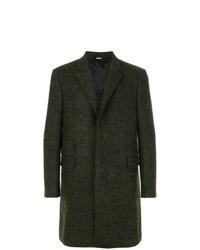 Abrigo largo verde oscuro de Stella McCartney