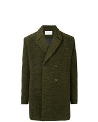 Abrigo largo verde oscuro de Strateas Carlucci