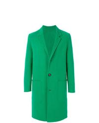 Abrigo largo verde de AMI Alexandre Mattiussi
