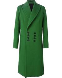 Abrigo largo verde de Ann Demeulemeester