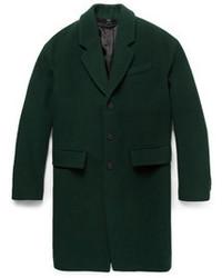 Abrigo largo verde de Burberry