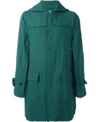 Abrigo largo verde de Comme des Garcons