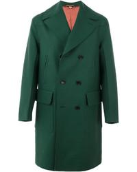 Abrigo largo verde de Gucci