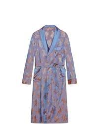Abrigo largo violeta claro de Gucci