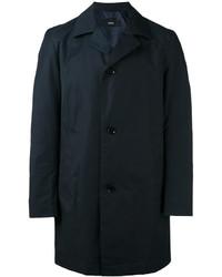 Abrigo ligero azul marino de Hugo Boss