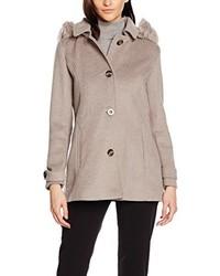Abrigo marrón claro de Bréal