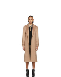 Abrigo marrón claro de Burberry