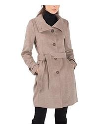Abrigo marrón claro de ESPRIT Collection