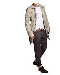 Abrigo marrón claro de Esprit