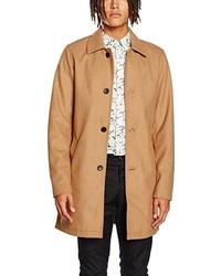 Abrigo marrón claro de Jack & Jones