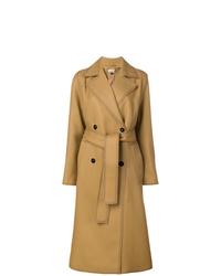Abrigo marrón claro de Jil Sander