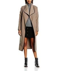 Abrigo marrón claro de Madonna