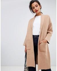 Abrigo marrón claro de Mango