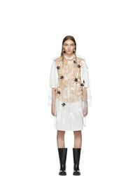 Abrigo marrón claro de Moncler Genius
