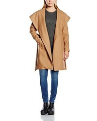 Abrigo marrón claro de Only