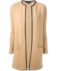 Abrigo marrón claro de Ralph Lauren