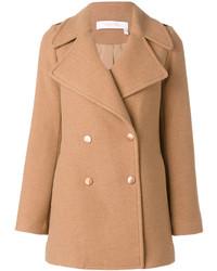 Abrigo marrón claro de See by Chloe