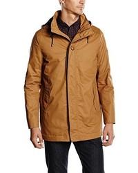 Abrigo marrón claro de Selected