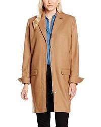 Abrigo marrón claro de Wood Wood
