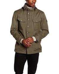 Abrigo marrón de Hackett London