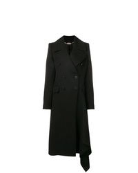 Abrigo negro de Alexander McQueen