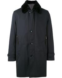 Abrigo negro de Brioni