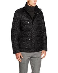 Abrigo negro de Burberry
