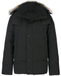 Abrigo negro de Canada Goose