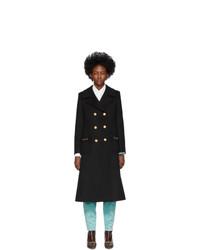 Abrigo negro de Gucci