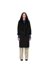 Abrigo negro de Max Mara