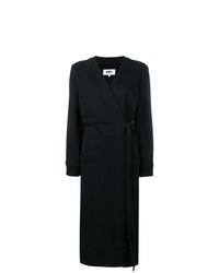 Abrigo negro de MM6 MAISON MARGIELA