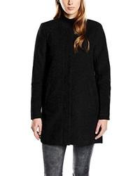 Abrigo negro de Only