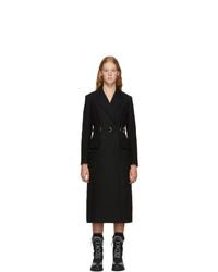 Abrigo negro de Prada