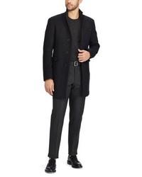 Abrigo negro de Ralph Lauren
