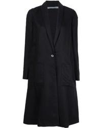 Abrigo negro de Raquel Allegra