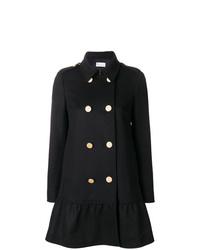 Abrigo negro de RED Valentino