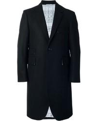 Abrigo negro de Thom Browne